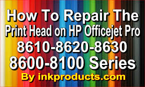 how to repair the hp officejet pro 8600 8610 8620 8630 6700 6600