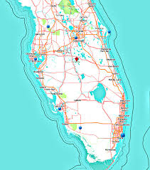 Cape Coral Fl Map Florida In 1 Week