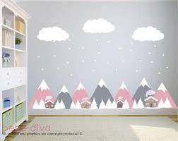 wall decals nursery etsy