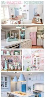 pastel kitchen ideas vintage appliances of color pastels in the kitchen is