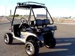 Golf Cart Off Road Tires Innovation Motorsports Full Custom Off Road Ez Go Golf Cart Long