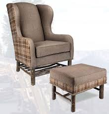 old hickory wingback chair