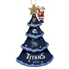 New York Yankees Christmas Tree Ornament by 2010 Annual Tennessee Titans Ornament The Danbury Mint