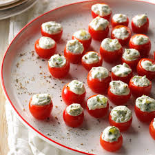 cuisine cherry cucumber stuffed cherry tomatoes recipe taste of home