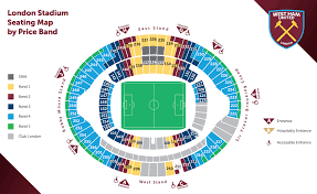 stadium floor plan hammers publish london stadium seating plan claretandhugh