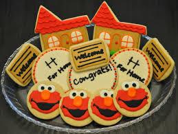 housewarming cookies elmo cookies sweet elizabeth