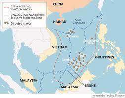 China Usa Map by Us Unveils New South China Sea Strategy