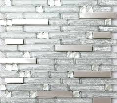 glass mosaic tile kitchen backsplash metal glass tile backsplash stainless steel wall glass