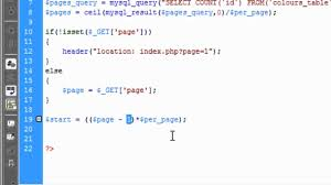 Count Pages Php Manually Php Pagination