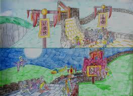Great Wall Of China On Map by Great Wall Of China Crash Bandicoot 3 Warped By