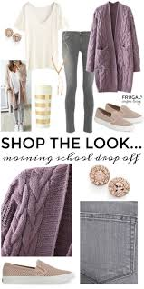 frugal fashion friday morning drop off friday morning