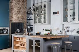 cuisine industriel cuisine style industriel idées de déco meubles et luminaires