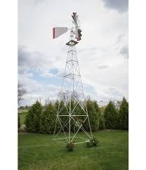 weathervanes thirty foot ornamental aluminum windmill large
