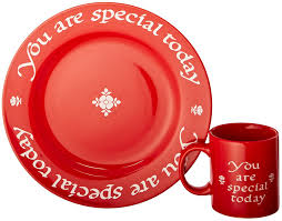 plate you are special waechtersbach you are special today plate and mug set