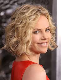lob for thin wavy hair blunt bob with long layers great for fine wavy hair like charlize