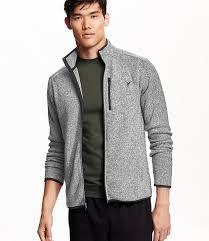 navy mens sweater fleece jacket size xxxl light