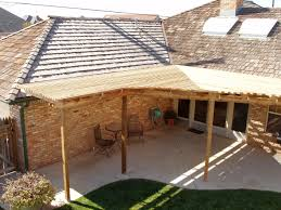 decorating alluring patio roof designs with gorgeous lates home