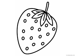 strawberry coloring pages cupcake coloring4free coloring4free com