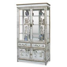 Corner Glass Display Cabinet Ebay Curio Cabinet Wall Curio Cabinet Whiteth Doors Corner Glass