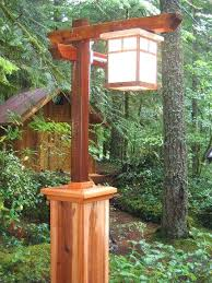 outdoor lamp post globes lighting craftsman copper light led the