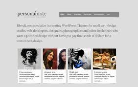 wordpress templates personal website http webdesign14 com