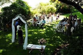 Outdoor Backyard Wedding Unique Backyard Wedding Ideas Home Decorating Interior Design