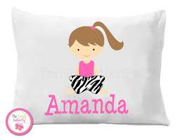personalized pillow pajama party personalized pillowcase slumber sleepover