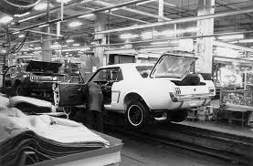 ford mustang assembly plant tour ford mustang assembly line car autos gallery