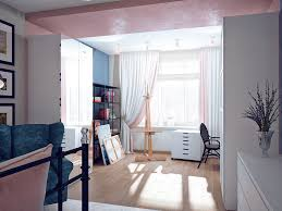 home art gallery design designs by style unique pink and blue bedroom color theme this