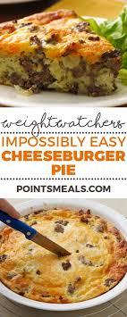 cuisine ww easy cheeseburger pie cuisine légère recette weight watchers et