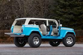 jeep safari 2014 jeep chief concept combines classic design wrangler and surfer