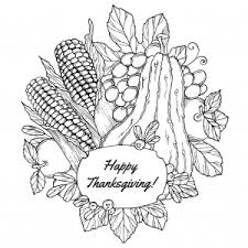 thanksgiving coloring pages for adults justcolor