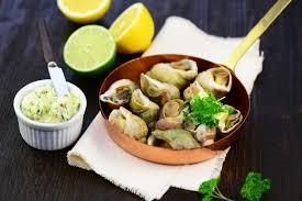 escargot cuisiné recette beurres pour préparer les escargots