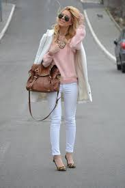 blogger zorannah how to style white jeans crossroads
