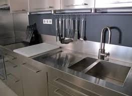 meuble cuisine inox meuble de cuisine avec evier inox meuble de cuisine salle de bains