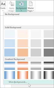 make a background transparent using publisher publisher