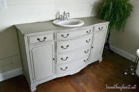 Antique Dresser Vanity Vanities Best 25 Dresser To Vanity Ideas Only On Pinterest