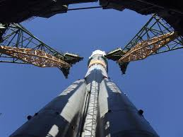 unusual views of the soyuz rocket universe today
