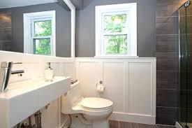 wainscoting ideas bathroom wainscoting small bathroom inspiring wainscoting in small bathroom a