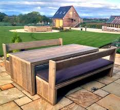 outdoor garden tables uk patio table and bench set beautiful 52 wooden garden bench and table