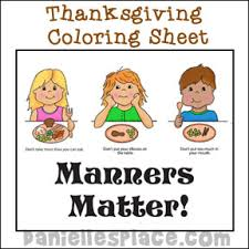 table manners for kids printable thanksgiving bible lesson on manners