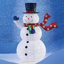 Snowman Lawn Decorations 72 Pop Up Snowman With 300 Led Lights Christmas Decor What U0027s It