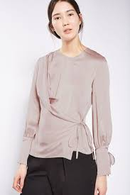 wrap blouses satin tie wrap blouse wrap blouse satin and topshop