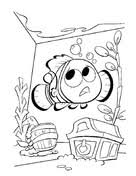 aquarium coloring page finding nemo coloring pages free coloring pages