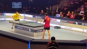 ping pong vs table tennis world chionship of ping pong 2017 semi final yan china vs