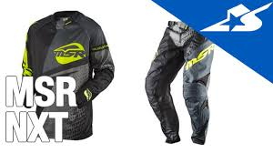 msr motocross gear msr nxt jersey and pants review motorcycle superstore youtube