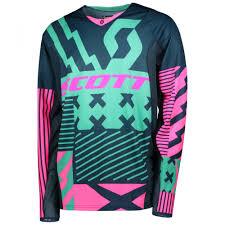 pink motocross jersey scott 450 patchwork motocross jersey 2018 mxweiss motocross shop