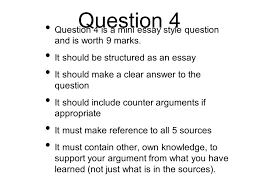 Question And Answer Essay Format How To Answer Paper 1 The Move To Global War Details You Have 5