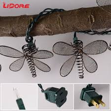 Dragonfly String Lights by Amazon Com Lidore Set Of 10 Vintage Style New Metal Dragonfly