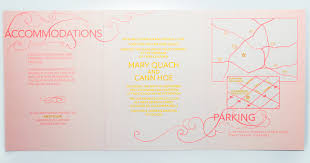 Tri Fold Invitations An Elegant Book Inspired Foil Trifold Invitation Charmcat